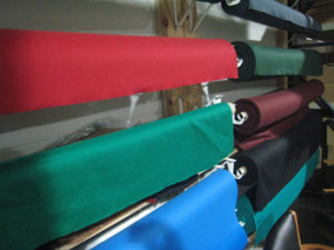 Grand Junction pool table recovering table cloth colors